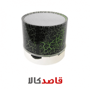 اسپیکر بلوتوثی قابل حمل طرح Stone چراغ دار