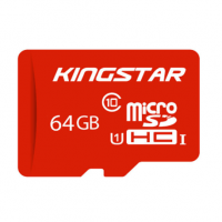 کارت حافظه microSDhC کینگ استار مدل IP25 کلاس 10 استاندارد UHS-I U1 سرعت 85MBps ظرفیت 64 گیگابایت