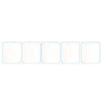 محافظ صفحه نمایش مدل TP5 مناسب برای ساعت هوشمند A1 بسته پنج عددی