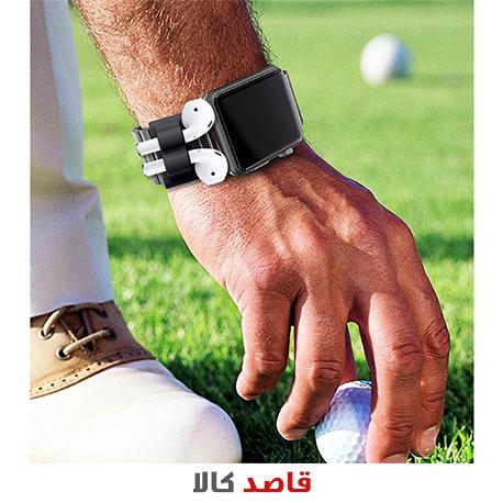 نگهدارنده سیلیکونی مدل Wristlet مناسب برای هدفون ایرپاد