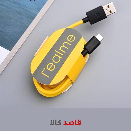 کابل شارژ USB به USB-C ریلمی مدل DC به طول 1 متر